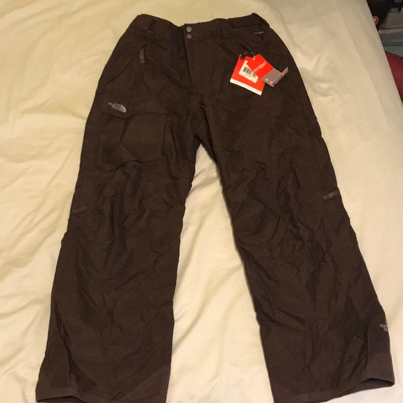256f1c006 North Face HyVent W Freedom Insulated Pants Brown NWT